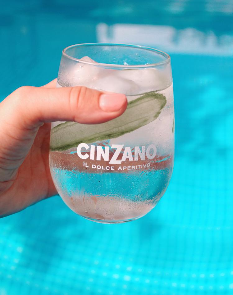 Cinzano Smeraldo schnelles Rezept eines mixen