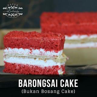 Ide Resep Barongsai Cake Ala Kue Artis