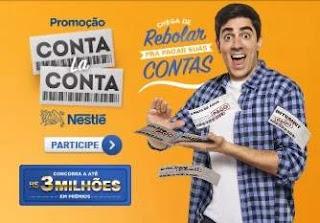 Cadastrar Promoção Nestlé Conta La Conta 3 Milhões Prêmios - Marcelo Adnet
