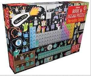 Periodic Table - Book and Jigsaw Puzzle