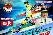 """Ikutilah """"Bupati CUP"""" Futsal Competition 2020 Antar SLTP SLTA Umum-Klub Se Garut Selatan"""