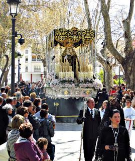 La Cofradía de Santiago celebrará en 2019 el 70 Aniversario de la llegada a Baza de la Virgen de los Dolores y del Rescate