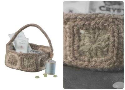 Cesta de Grannys Crochet Patron
