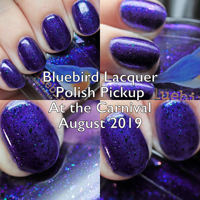 Bluebird Lacquer Polish Pickup At the Carnival August 2019