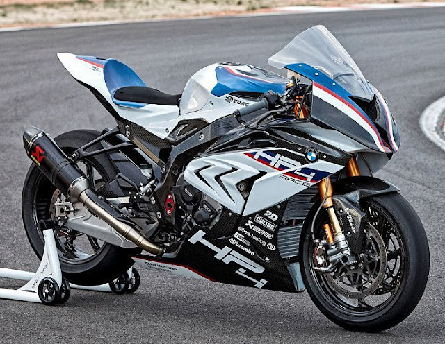 BMW HP4 RACE motorcycle worth INR 85 Lakhs (ex-showroom).