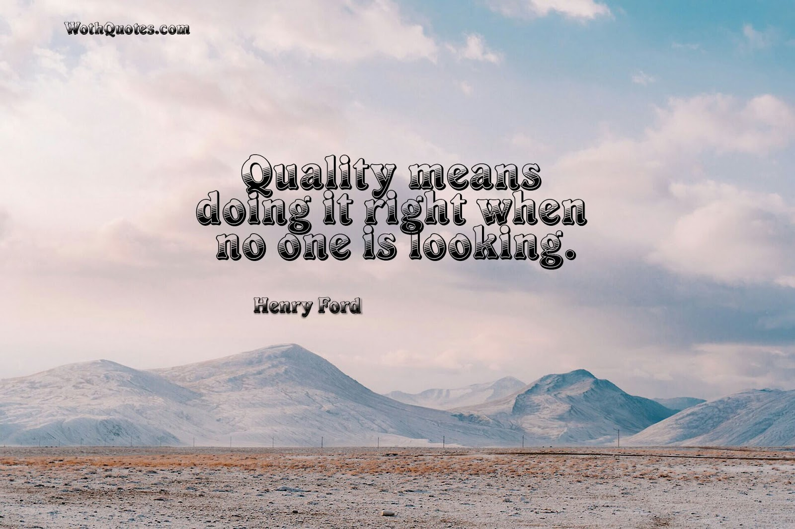 Quality Not Quantity Quote: 48 Quality Quotes - Sayings