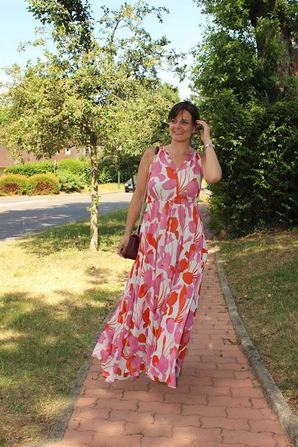 robe longue mango, look du jour, les petites bulles de ma vie