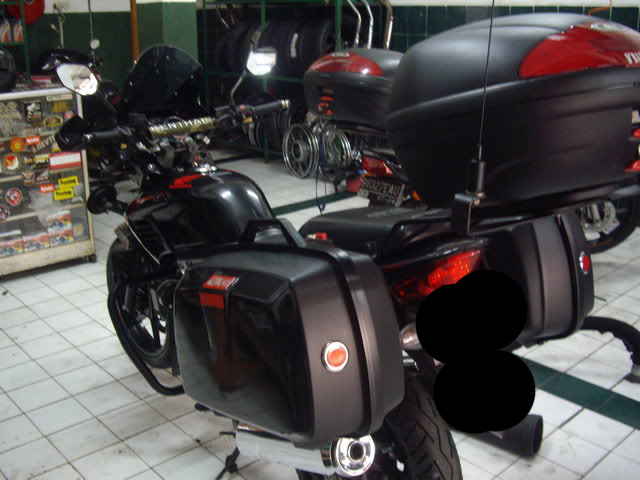 Modifikasi Motor Matic Touring