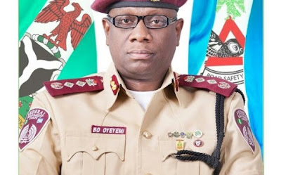FRSC BOSS Oyeyemi 0 600x374 - FRSC officials shot by Policemen Attach to Abia Speaker's wife's  for stopping her car