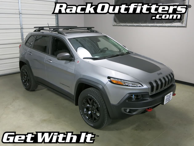 NEW Jeep Cherokee TrailHawk Thule Rapid Crossroad BLACK ...