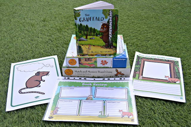 Home Schooling Week Plan | The Gruffalo