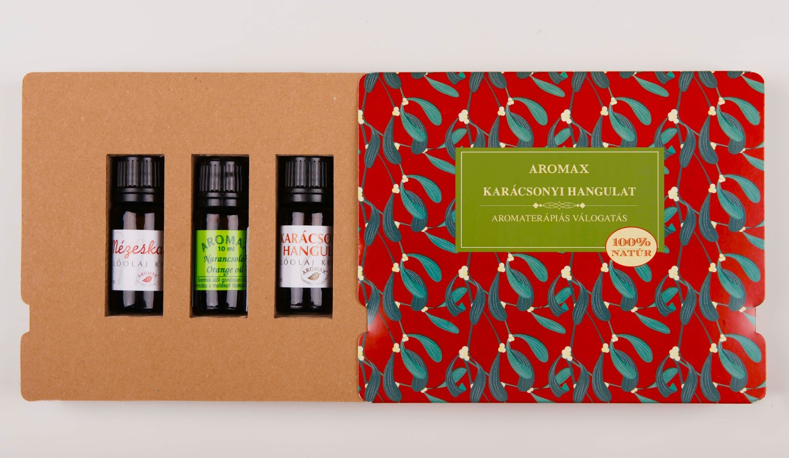 Aromax Essential Oil Gift Pack On Packaging Of The World