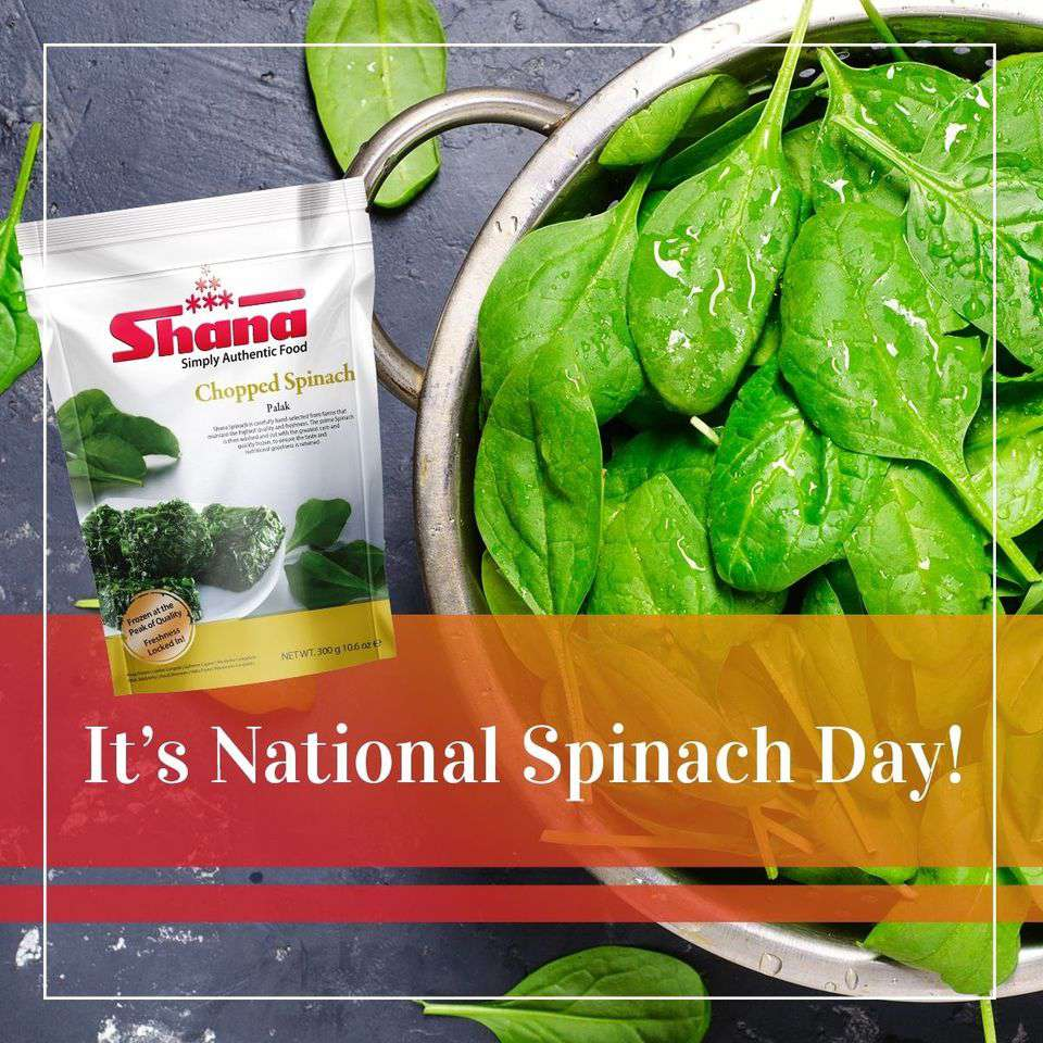 National Spinach Day Wishes for Whatsapp