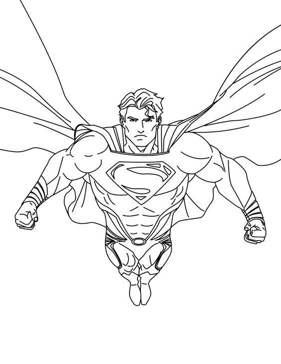 Tranh tô màu siêu nhân 02