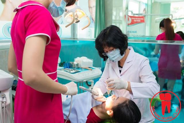 Trồng răng sứ IMPLANT tại TPHCM
