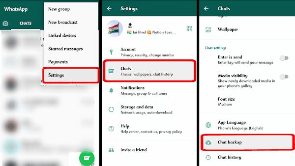 Whatsapp Chat Settings