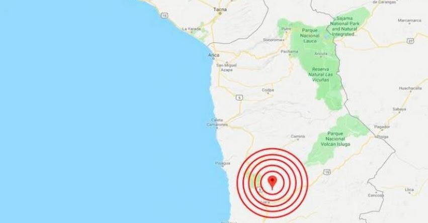 FUERTE SISMO En Chile de Magnitud 5.1 - Alerta de Tsunami (Hoy Martes 14 Agosto 2018) Temblor EPICENTRO - Tarapacá - Camiña - ONEMI - www.onemi.cl