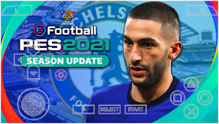 Download PES 2021 PPSSPP Chelsea Edition Update Realistic Face & Full Latest Transfer (January)