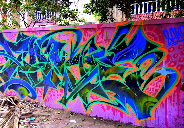 street art, painting, mural, nagrana lane, ranwar, bandra, incredible india, moday murals,