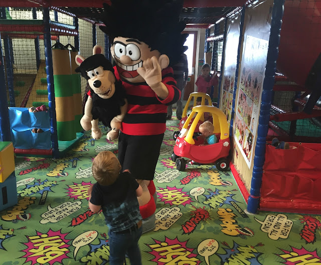 Brewers Fayre Derwent Crossing Dennis the menace
