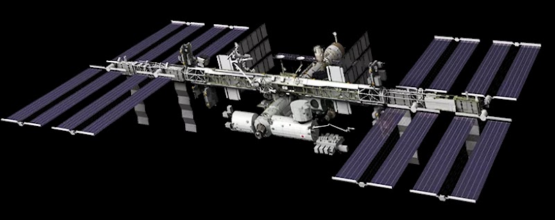 Mapa Interactivo De La ESA Muestra el Posicionamiento De La Estación Espacial Internacional En Vivo-Directo (ISS TRACKER)