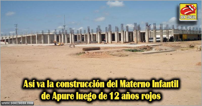 Así va la construcción del Materno Infantil de Apure luego de 12 años rojos