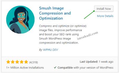 Cara Optimasi Gambar WordPress Dengan WP Smush