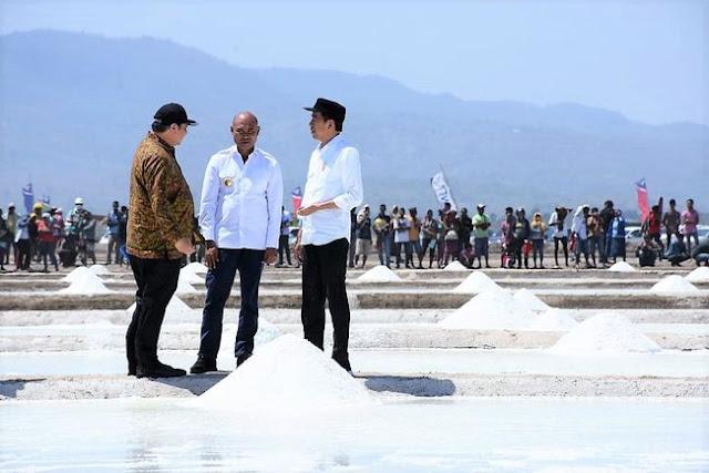 Jokowi: Jangan Ada yang Hambat Impor, Garam sampai Gula