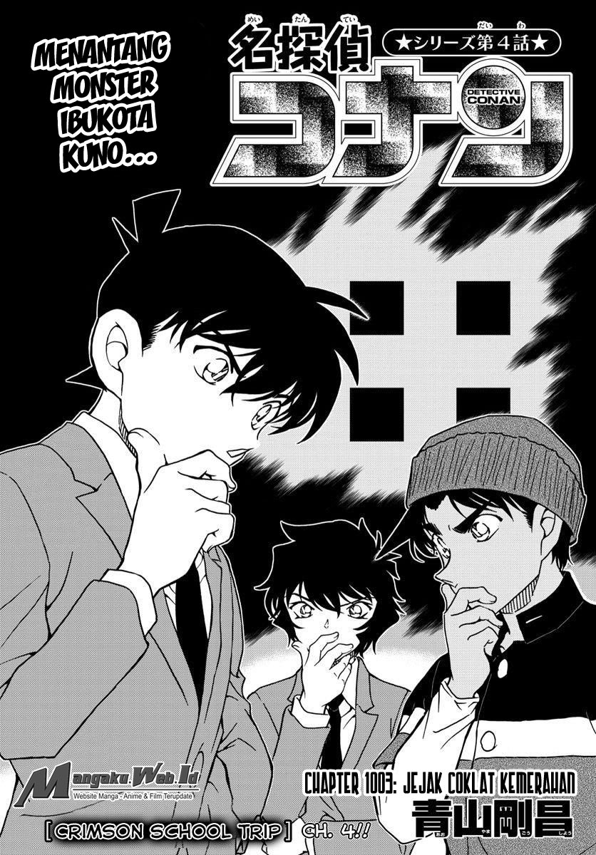 1 Detective Conan z1003   Jejak Merah Muda