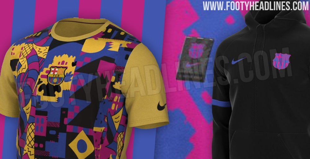 LEAKED: FC Barcelona to Release City-Inspired 2021-22 ...