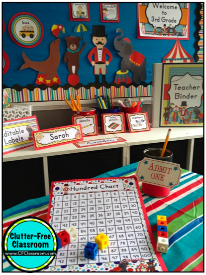 Classroom Decoration Games Free ~ Circus carnival themed classroom ideas photos tips