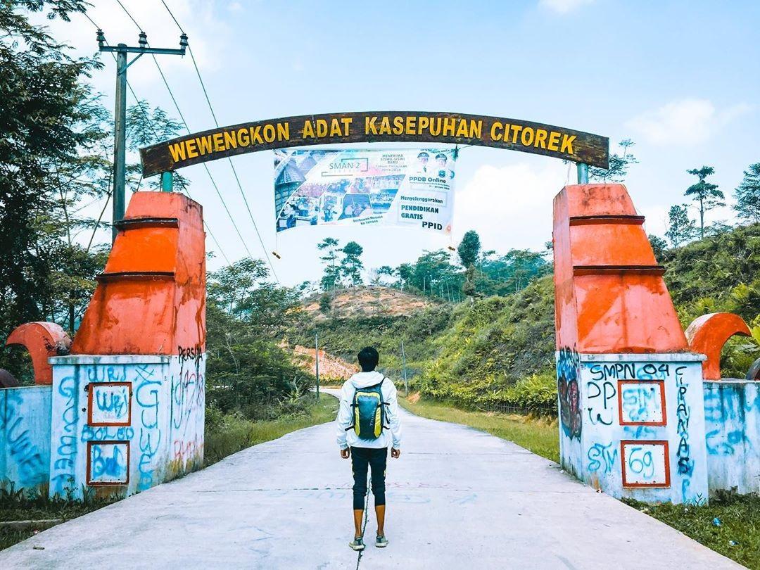 Rute Wisata Negeri Diatas Awan Citorek Lebak Banten