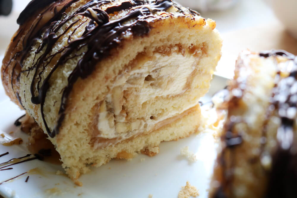 Banoffee Roulade Recipe | Bake Off Bake Along | Hungry Little Bear