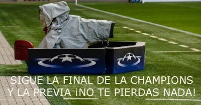 Final de la Champions league, partido y previa en A3 y la Sexta