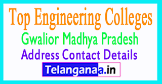 Top Engineering Colleges in Gwalior Madhya Pradesh