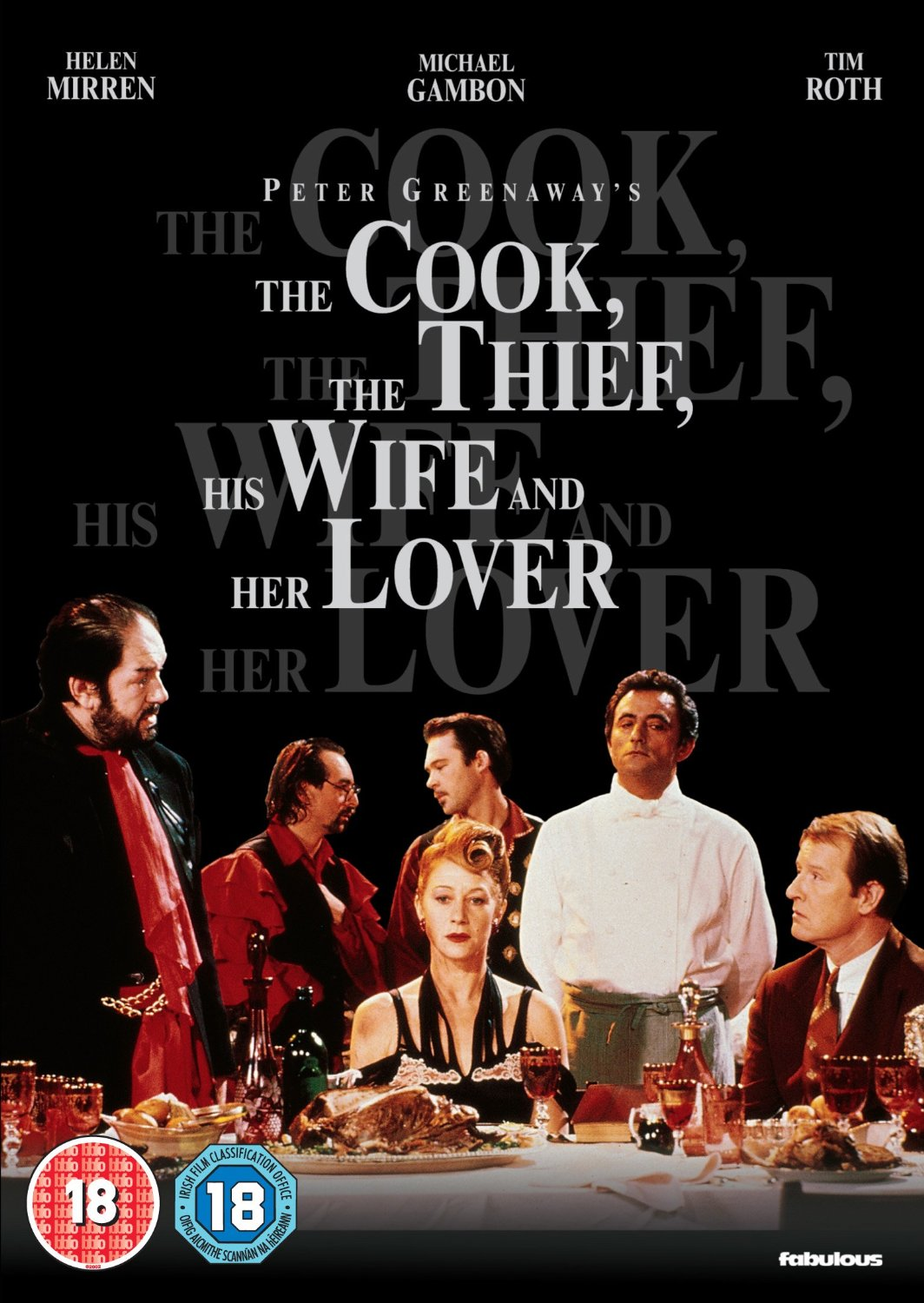 an analysis of the film the cook the thief his wife and her lover by peter greenaway The cook, the thief, his wife & her lover is a 1989 british-french romantic black comedy crime drama film written and directed by peter greenaway, starring richard.
