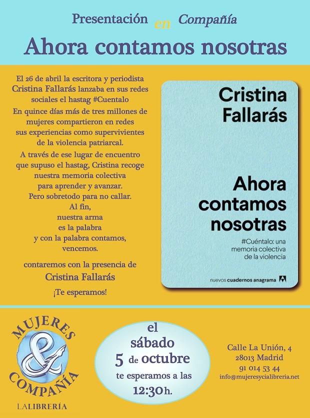 http://www.mujeresycialibreria.net/titulo/ahora-contamos-nosotras/9788433916334/
