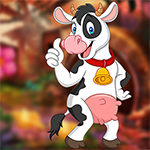 Games4King - G4K Cherish Cow Escape Game
