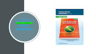 Sadlier Vocabulary Workshop Enriched Edition Level E Unit 2 Answers