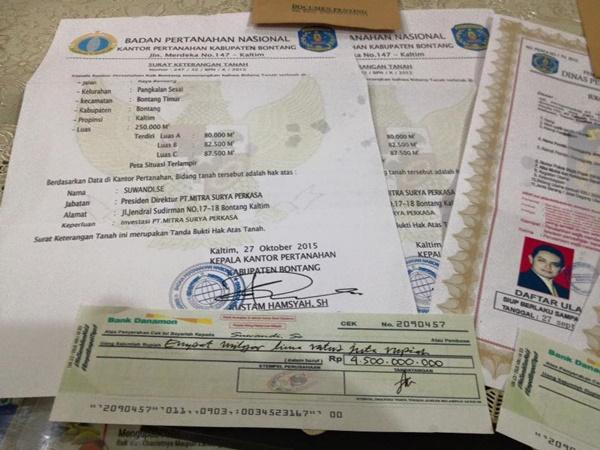 Modus Penipuan Dengan Dokumen Penting Jatuh di Jalan
