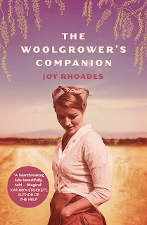 Book cover of a young woman in the outback,  The Woolgrower's Companion
