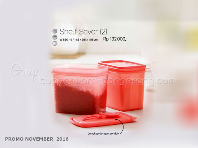 Shelf Saver Promo Tupperware November 2016