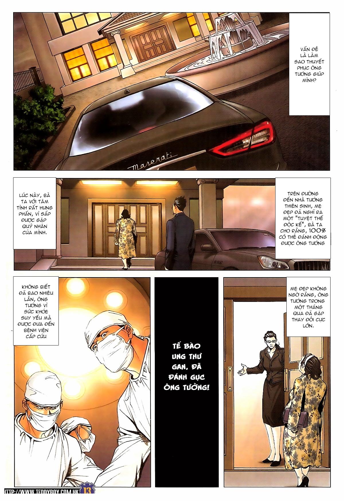 Người Trong Giang Hồ chapter 1642: anh hùng khí đoản trang 12