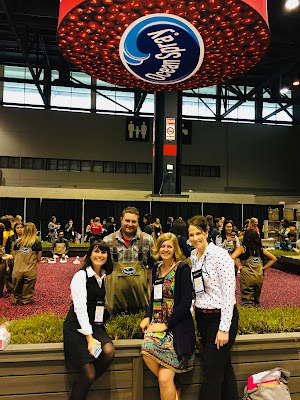 FNCE 2017 Chicago with Jen Haugen, Lynn Dugan, Ocean Spray Cranberries