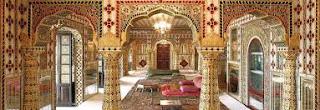 Inside Ranjit Vilas Palace