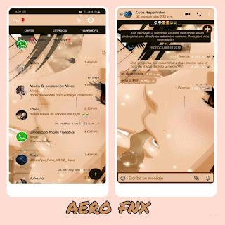 Caupal Love Theme For YOWhatsApp & Fouad WhatsApp By Ave fénix