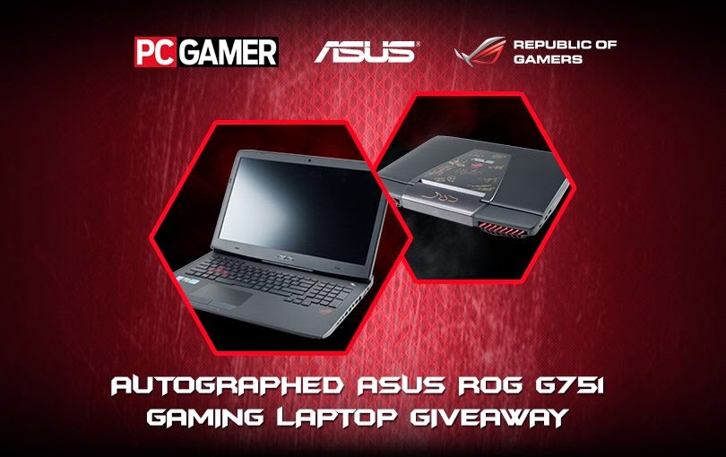 Win an ASUS ROG G751 Laptop Giveaway