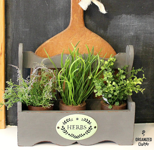 Spice Rack Herb Pot Display