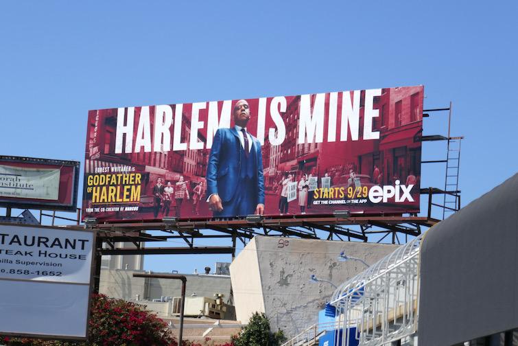 Godfather of Harlem season 1 billboard