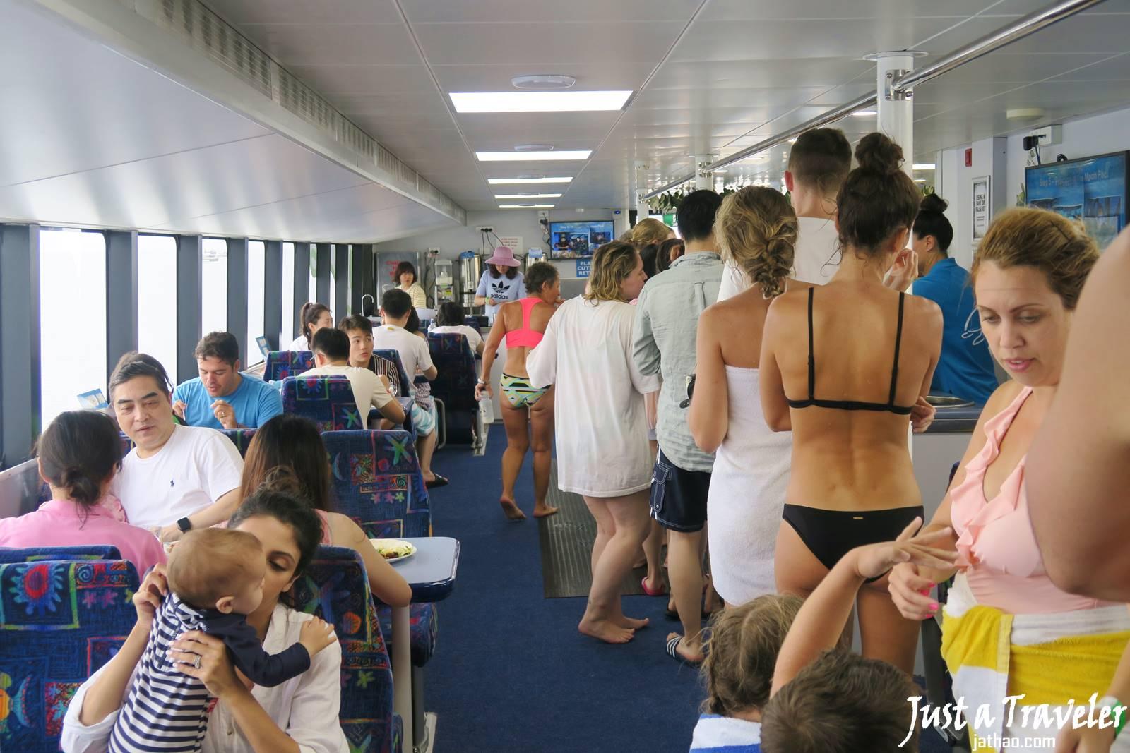 聖靈群島-景點-推薦-大堡礁-午餐-浮潛-潛水-行程-玩水-一日遊-遊記-攻略-自由行-旅遊-澳洲-Whitsundays-Great-Barrier-Reef